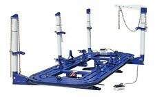 18 FEET 4 TOWERS AUTO BODY SHOP FRAME MACHINE WITH FREE CLAMPS,TOOLS TOOLS CART