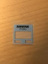 Shure Part  battery door Assembly for UR5 ULXD QLXD P10R 90A16915 P9RA