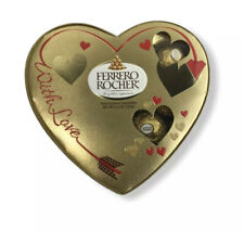 FERRERO HEART ROCHER HAZELNUT GIFT MILK CHOCOLATES SEMISWEET 20 PIECES (2 Boxes)