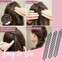 Women French Hair Braiding Tool Hook Magic Hair Twist Bun Maker Styling Rol