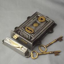 Victorian Cast Iron Davenport Rim Lock