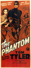 The Phantom - Classic Movie Cliffhanger Serial DVD Tom Tyler  Jeanne Bates