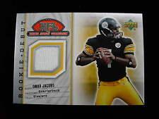 2006 UD Rookie Debut Omar Jacobs jersey card   Steelers  jsy