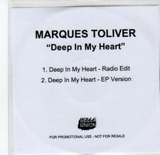 (BY862) Marques Toliver, Deep In My Heart - 2011 DJ CD