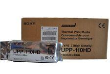 SONY UPP-110HD CARTA TERMICA ECOGRAFICA RULLINO 110 MM X 20 METRI
