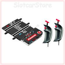 Carrera GO Plus Upgrade Set Anschluss-Schiene 61662 2x Kabel Handregler 61663