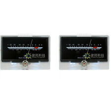2pcs P 134 Level Meter Audio Volume Db Vu Meter Level Back Light Post Amplifier