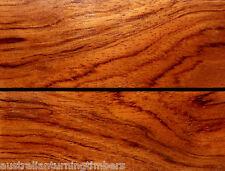 Backsawn African Bubinga Wood Knife Scales