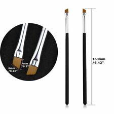 Tinting Eyeshadow Pro Angled 5Pcs Eyebrow Brush Cosmetic Eye Brow Brushes
