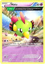 4x Natu - 28/108 - Common Pokemon Near Mint Roaring Skies