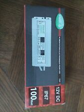 Alimentation electronique ruban led 100W 12V DC IP67 MIIDEX 7537