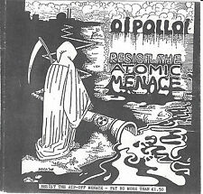 "OI POLLOI - Resist The Atomic Menace / 5 Track, 7""  Punk EP Single, CAMPARY 023"
