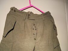 VINTAGE WOOL GERMAN MILITARY PANTS G.D.BUCKING-ALSFELD MEDIUM