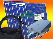 2000 Watt Photovoltaikanlage Solaranlage Komplett Set für Hausnetzeinspeisung