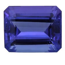 2.35ct 9x7mm Emerald Cut Loose Tanzanite Gemstone