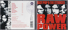 CD 10T IGGY POP & THE STOOGES RAW POWER DE 2000