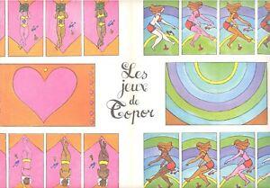 Topor Le jeuux  le bronzage. in Linus  Luglio 1968 Desiné par Sabine