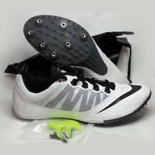 NIKE RIVAL S Men Size 12 Track & Field Running Shoes Sprint White Black NIB