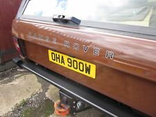 x2 Range Rover classic two colour bonnet & tailgate restoration decals stickers