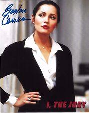 Barbara Carrera Signed 8x10 Photo - I, THE JURY - RARE!!! H130