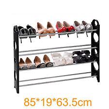 S-118 extra largeur 4 niveaux 20 paires réglable Shoe rack Organisateur de stockage étagère