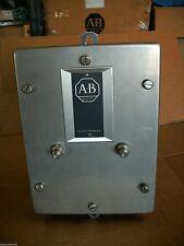 ALLEN BRADLEY 709-CCA STAINLESS STEEL ENCLOSURE ONLY - NO STARTER