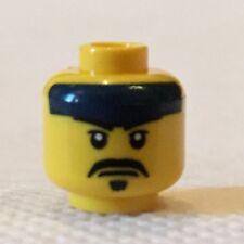 Lego minifigure head - samurai