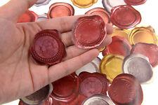 45 piece Retro Wax Seal Design Sticker lot For Craft Diary Scrapbook Album