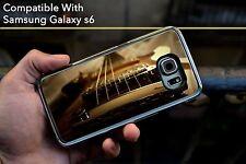 Guitarra Gibson impresionante Funda Rígida Para Samsung Galaxy S6