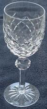 Waterford Crystal Powerscourt Claret Wine Glass Cut Crystal - VGC - Chipped