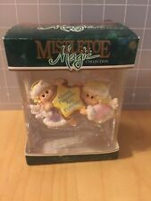 Mistletoe Magic Xmas Ornament Friends Are Forever Trevco 201502 Angels Bt-1.16