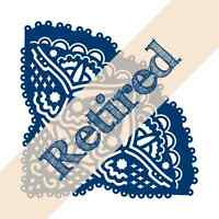 Tattered Lace Cutting Die - Chantilly Petal - D176 -  Retired
