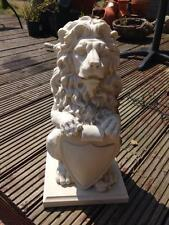 Latex Craft Mould For Large Standing Lion Garden Ornament Art & Crafts Hobby