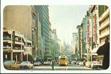 Australia Postcard - Bourke Street, Melbourne, Victoria - 1978