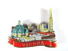 Imán Viena Charles Church Catedral de st Stephan, Poly, Recuerdo Austria, Nuevo