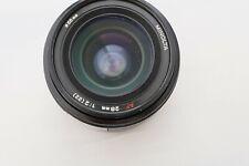 Minolta 28mm f2 AF lens - Sony Minolta A mount