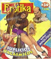 """DELMONICOS EROTIKA """"SUPLICIOS ORGASMICOS"""" mexican comic SEXY GIRLS, SPICY #30"""