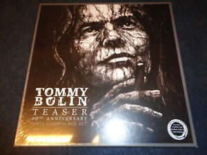 TOMMY BOLIN TEASER 40TH ANNIVERSARY-3 LP 2 CD-VINYL EDITION BOX SET-SEALED-O9-ZZ