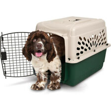 Med Dog Crate Cage 20-35 Lbs Travel Plastic Airline Approved Pet Kennel 28