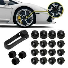 For Audi Set Lug Center Nut Covers Caps & Wheel Locking Bolt Cover Fasteners