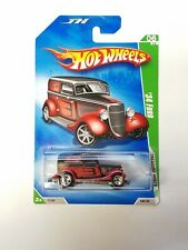 2009 Hot Wheels Treasure Hunt '09 '34 Ford Red Car #6/12 NOC