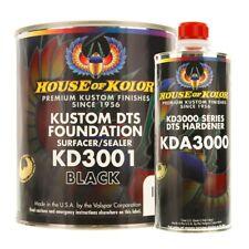 House of Kolor KD3001-G01 Kustom DTS Foundation Black Surfacer Sealer Gallon Kit