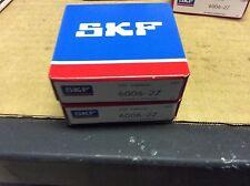 2-SKF,bearings#6006-2Z,30day warranty, free shipping lower 48!