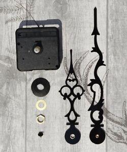 Quality Silent Quartz DIY clock mechanism movement Kit LARGE Hands Wall clock