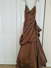 PAOLA D'ONOFRIO Ball/Wedding Gown Dress Made in Italy Size : IT50/US10-12