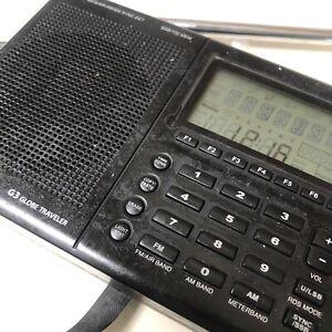 GRUNDIG G3 GLOBE TRAVELER AM/FM SHORTWAVE RADIO WITH SSB AND RDS