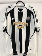 2005-07 Newcastle United Home Shirt - Large -*Owen 10 On Back*