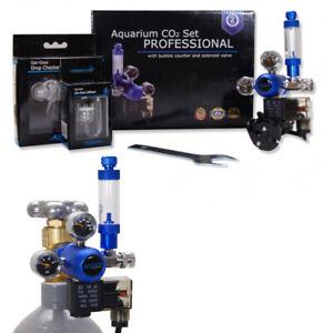 NEW PRO AQUARIUM SET CO2 SYSTEM WITH SOLENOID VALVE AQUARIUM FISH TANK