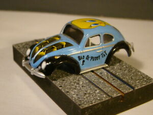 Looney Tune's VW Bug - Brand New Auto World HO T-jet  BODY - MINT/New!