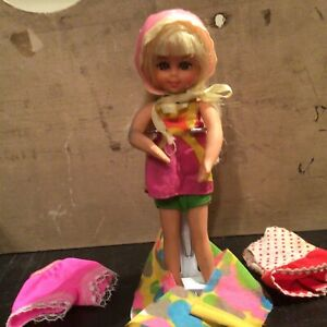 Vintage Mattel Chris Doll Bendable So Cute!